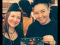 Das Team VAMPI - Die Illustratorin BenSwerk und die Autorin S.B. auf der Leipziger Buchmesse 2015