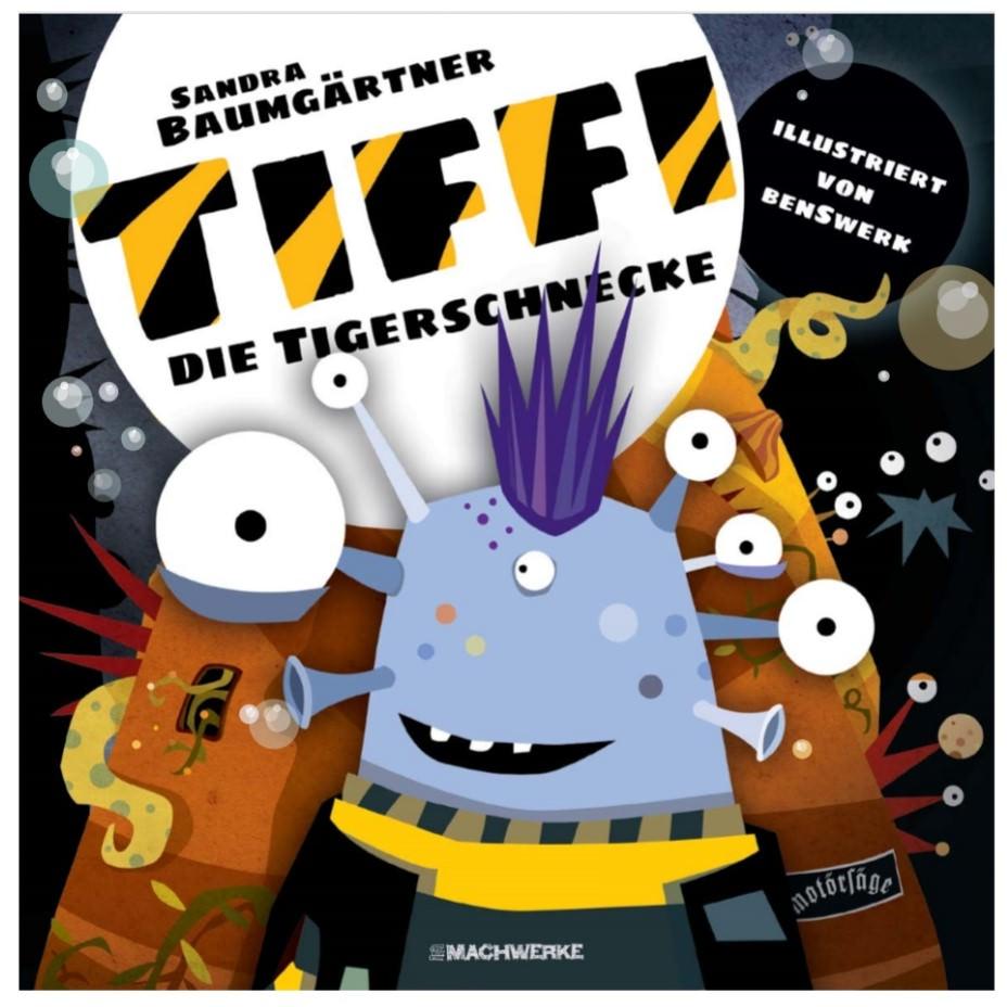 Tiffi Tigerschnecke Kinderbuch Vorlesen