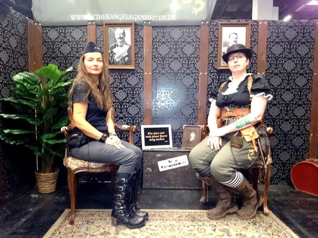 Anja Bagus und Sandra Baumgärtner im RealLife, RPC 2016.
