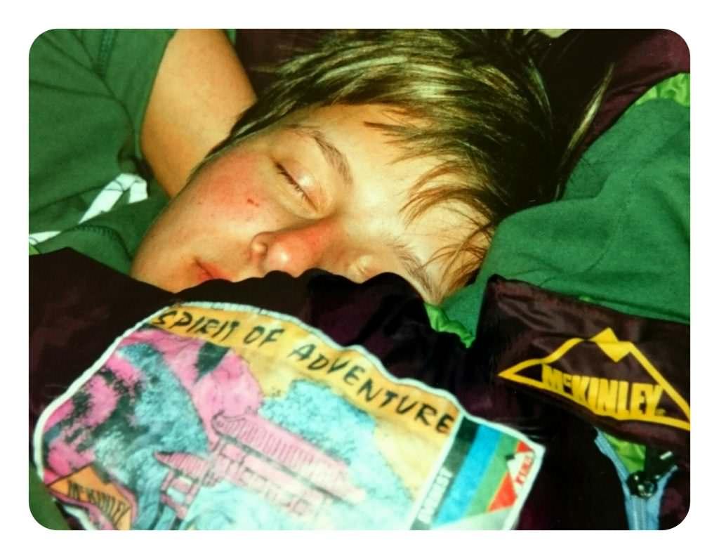 Echidna Australien Sleeping Beauty Backpacking