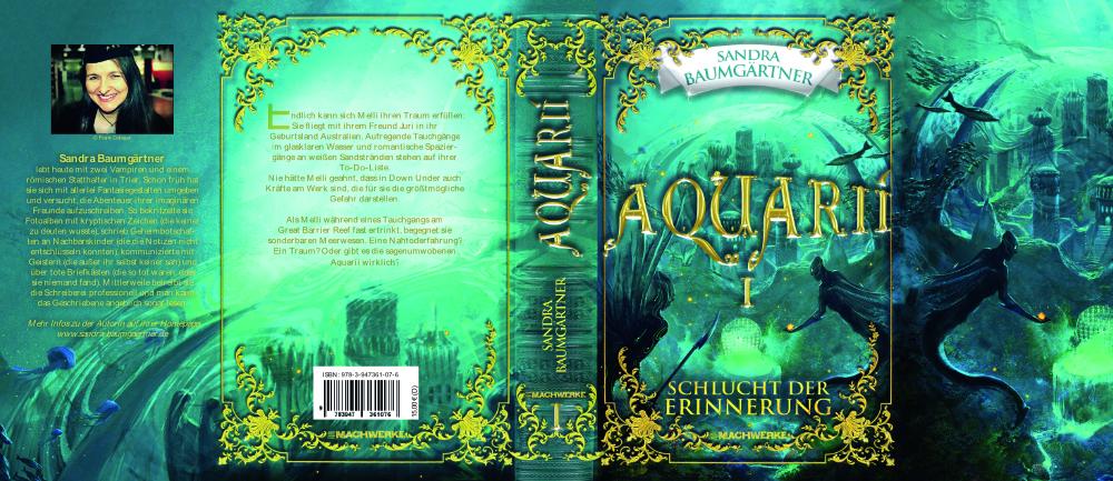 Buchumschlag Aquarii 1 Buchcover