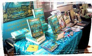 Büchertisch Aquarii Sandra Baumgärtner Lesetipp Buchtipp Geheimtipp