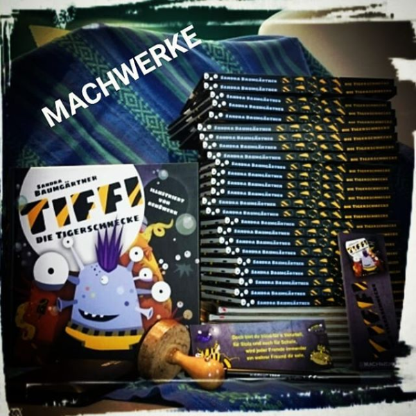 Tiffi Kinderbuch Tigerschnecke Machwerke Sandra Baumgärtner